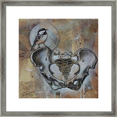 Framed Print featuring the painting Beginnings by Sheri Howe