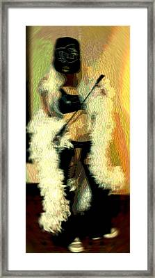 Behave Framed Print by CrysWheel