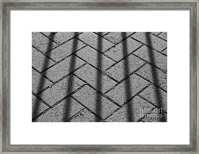 Behind Bars Framed Print by Luke Moore