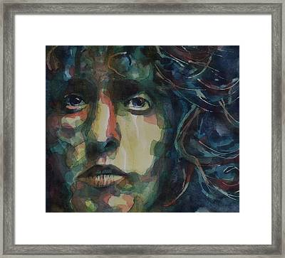 Behind Blue Eyes Framed Print by Paul Lovering