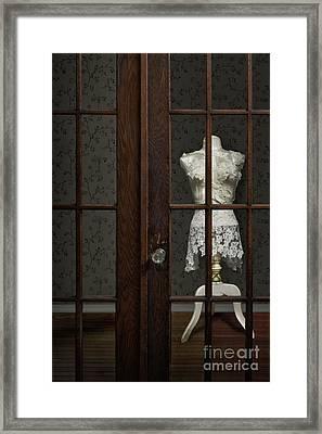 Behind Closed Doors Framed Print by Margie Hurwich