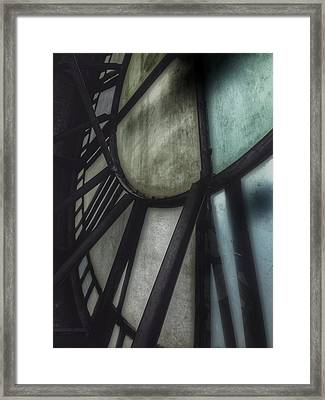 Behind The Clock - Emerson Bromo-seltzer Tower Framed Print by Marianna Mills