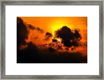 Behind The Clouds 2 Framed Print by Brian Stevens