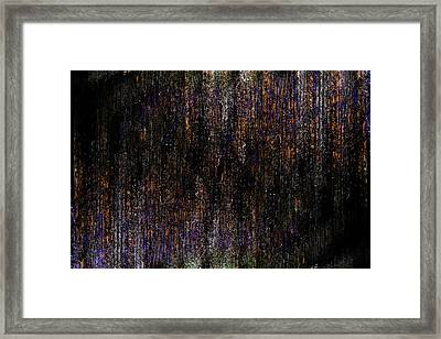 Behind The Curtain Framed Print by Christopher Gaston