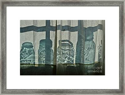 Behind The Curtains - Peoples Choice Award Framed Print