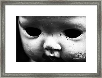 Behind The Eyes Framed Print by John Rizzuto