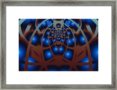 Behind The Gates Framed Print
