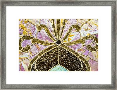 Behind The Glass Framed Print by Christi Kraft
