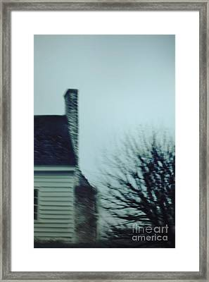 Behind The House Framed Print by Margie Hurwich
