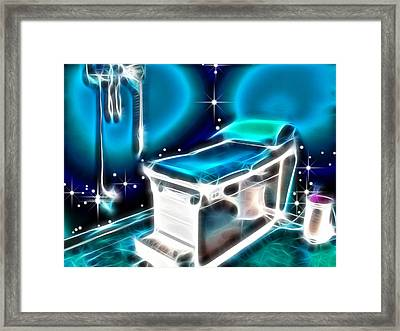Behind The Last Door Framed Print by Wendy J St Christopher