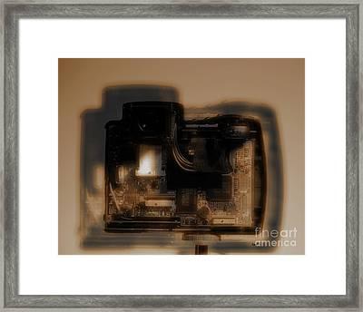 Behind The Lens  Framed Print by Steven Digman