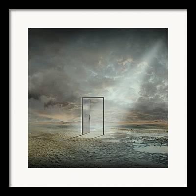 Surreal Reality Framed Prints
