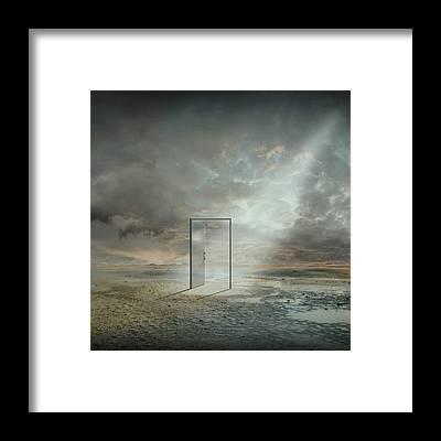 Doorway Framed Prints
