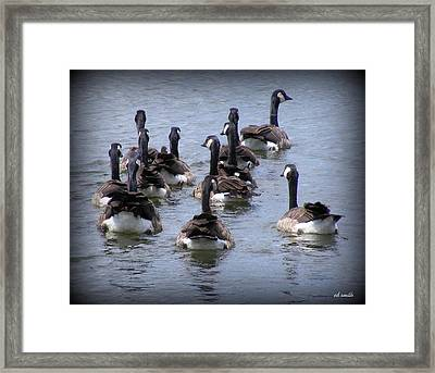Behind The Scenes Framed Print by Ed Smith