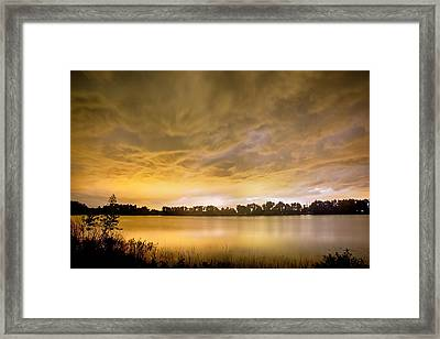 Behind The Storm Framed Print