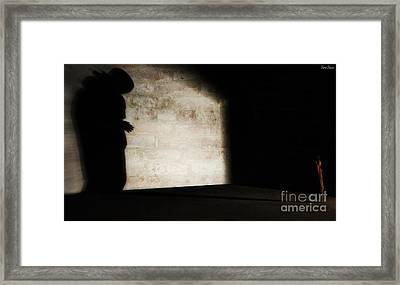 Behind The Walls Of Democracy Framed Print