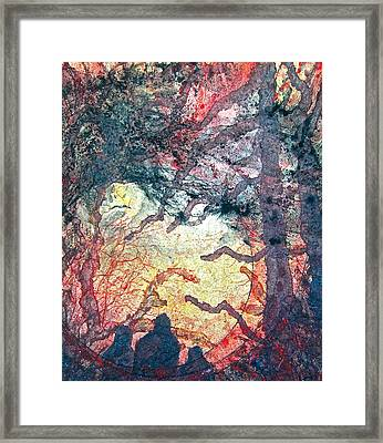 Behind Tomorrow's Memories Framed Print by Carolyn Rosenberger