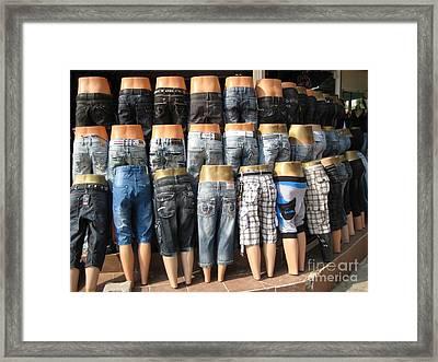 Behinds Framed Print
