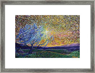 Beholding The Dream Framed Print