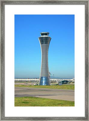 Beijing Airport Control Tower. Framed Print