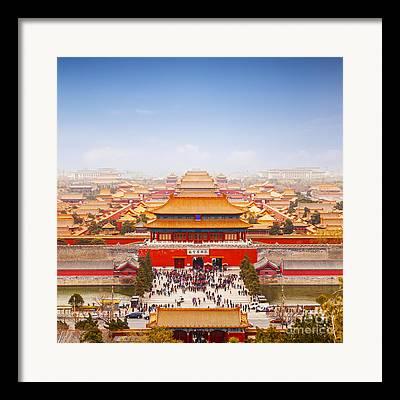 Forbidden City Framed Prints