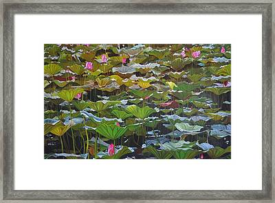 Beijing In August Framed Print