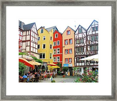 Framed Print featuring the photograph Beilstein by Gerry Bates