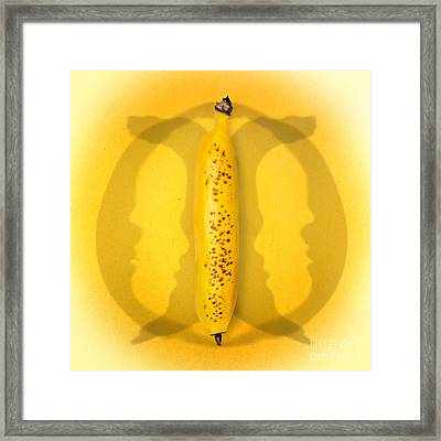 Being Bananas From Inversions In The Multiverse Framed Print