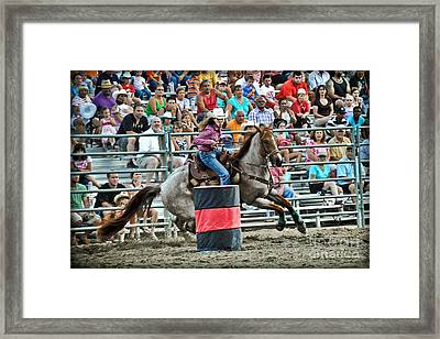 Being Clocked Framed Print by Gary Keesler