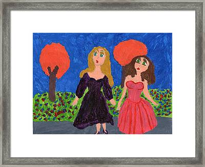 Being In Tune With Nature Framed Print by Frances Garry