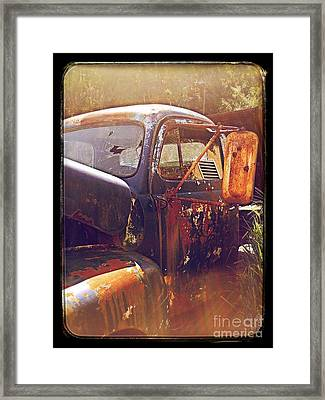 Being Old  Framed Print