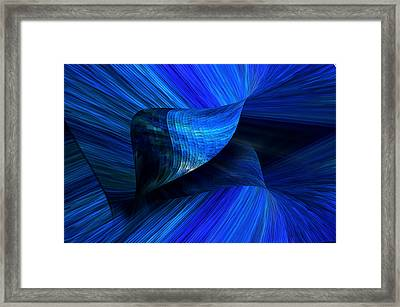 Being Sucked In Framed Print by Camille Lopez