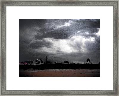 Being There Framed Print by Christy Usilton