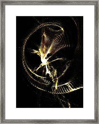 Being Torn-asunder By Economic-corporate Greed V.2 Framed Print by Rebecca Phillips