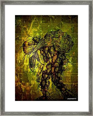 Beings Incapable Of Deep Feelings Of The Human Condition Framed Print by Paulo Zerbato