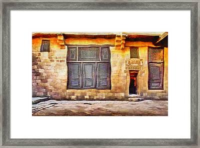 Beit El Harrawi Framed Print by George Rossidis