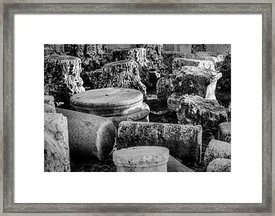 Beit She'an Framed Print by Alexey Stiop