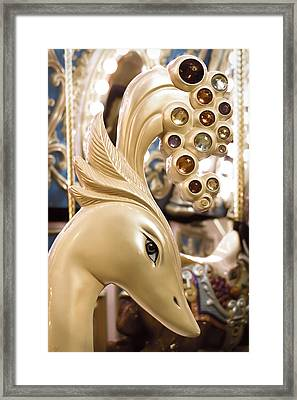 Bejewelled Framed Print by Caitlyn  Grasso