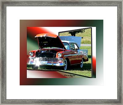 Bel Air 1950s-featured In Manufactured Items Group Framed Print by EricaMaxine  Price