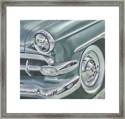 Bel Air Headlight Framed Print by Victor Montgomery