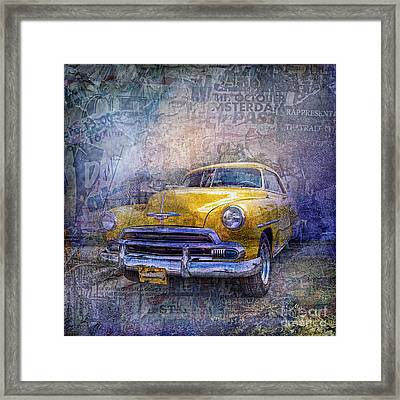 Bel Air Framed Print by Mo T
