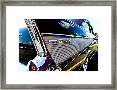 Framed Print featuring the photograph Bel Air Reflections by Joann Copeland-Paul
