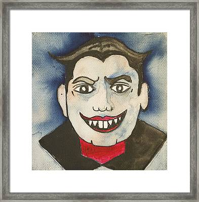 Bela Lugosi As Tillie Framed Print by Patricia Arroyo