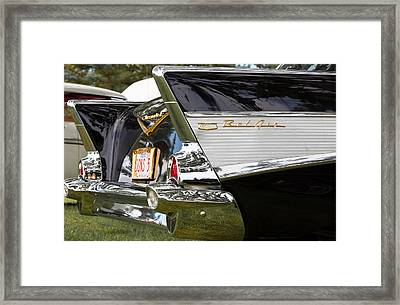 Framed Print featuring the photograph Belair Tail Fins  by Mick Flynn