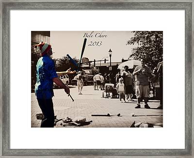 Bele Chere 2013 Asheville Nc Framed Print