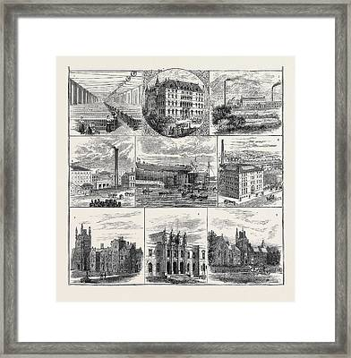 Belfast And Its Industries, Meeting Of The British Framed Print by English School
