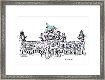 Belfast City Hall Belfast Framed Print by Tanya Mai Johnston