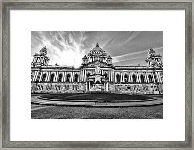 Belfast City Hall Framed Print