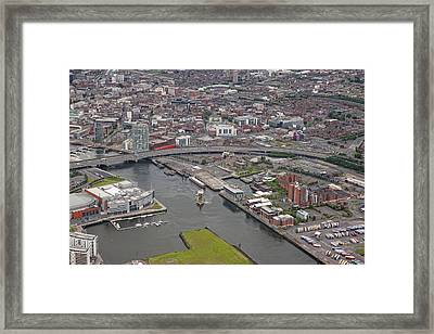 Belfast City, Ulster Framed Print by Colin Bailie