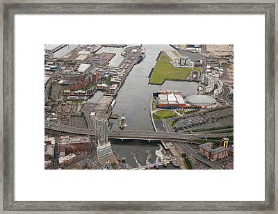 Belfast Docks, Belfast Framed Print by Colin Bailie